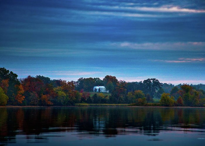 Blythe Ferry Greeting Card featuring the photograph The Old Ferry House by Steven Llorca