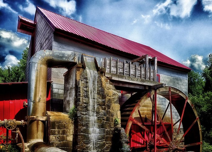 Old Mill Of Guilford Greeting Cards
