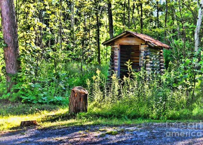 Vacation Greeting Card featuring the photograph The Old Shed by Cathy Beharriell