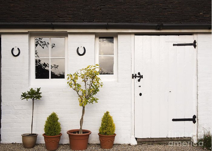 Shed Greeting Card featuring the photograph The Old Shed by Louise Heusinkveld