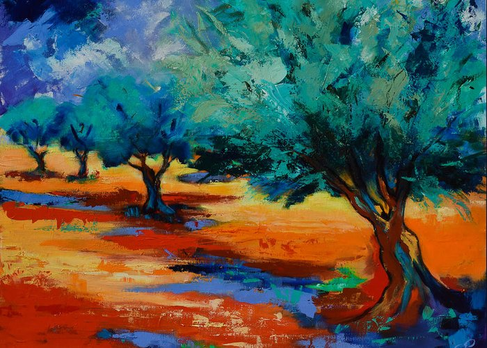 Cultivation Paintings Greeting Cards