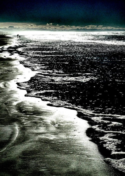 Pacific Greeting Card featuring the photograph The Peaceful Ocean by Steve Taylor
