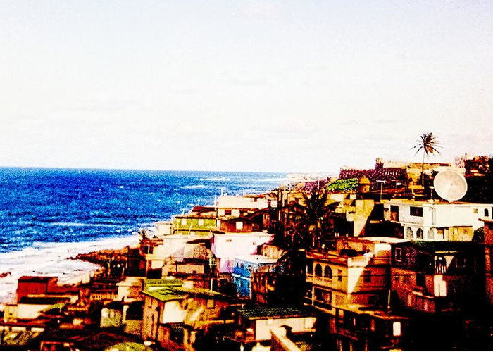 Digital Greeting Card featuring the photograph The Pearl Of Old San Juan by Sandra Pena de Ortiz
