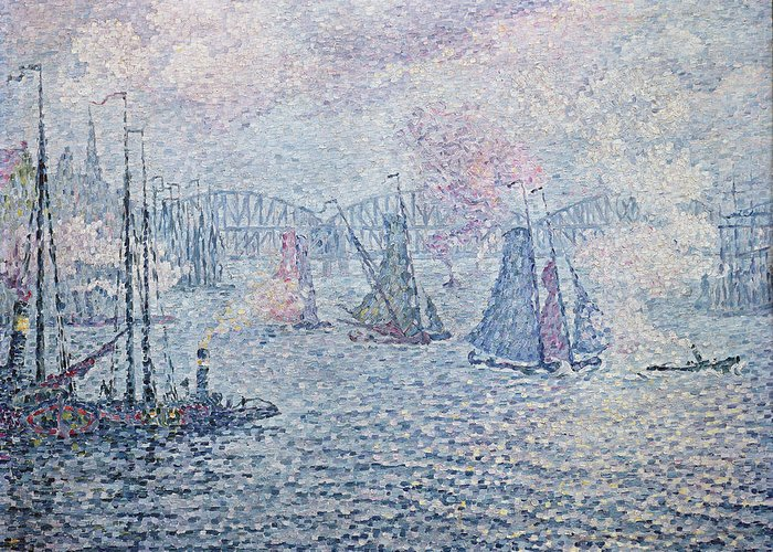Neo-impressionism Greeting Cards