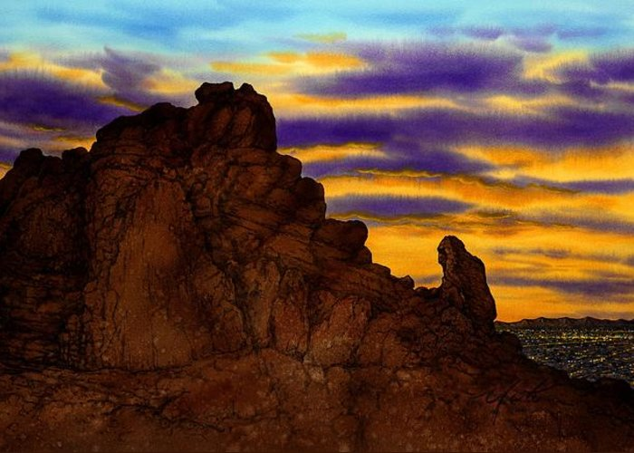 Camelback Mountain Greeting Cards