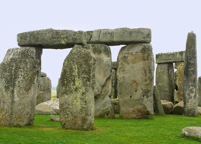 Travel Greeting Card featuring the photograph The Real Stonehenge by Linda Phelps