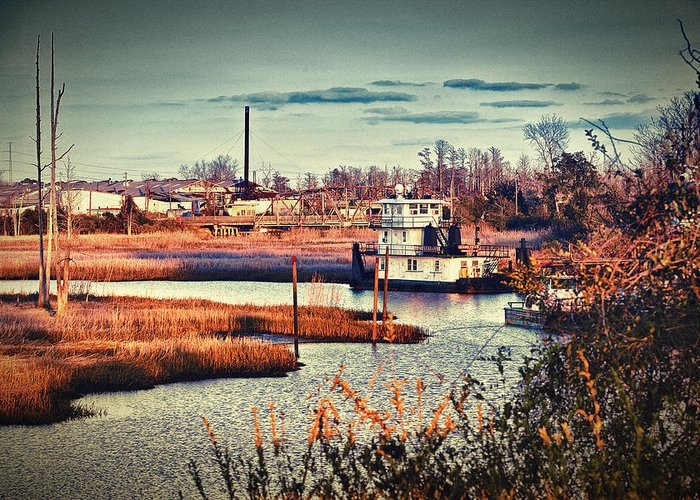Fishing Greeting Card featuring the photograph The River Basin by Chris Brehmer
