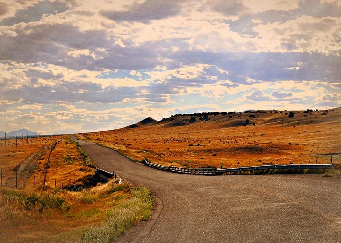 Road Greeting Card featuring the photograph The Road Less Traveled by Marty Koch