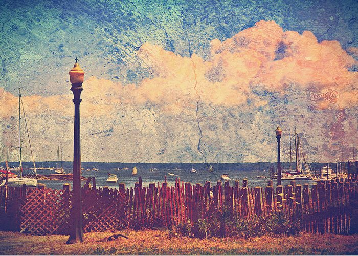 Mamaroneck Greeting Card featuring the photograph The Salty Air Sea Breeze In Her Hair Iv by Aurelio Zucco