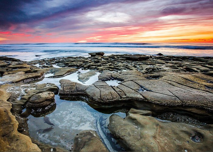 La Jolla Greeting Card featuring the photograph The Sky is the Limit by Robert Aycock