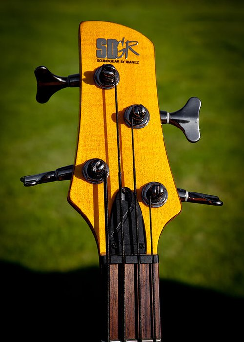 Soundgear Guitar By Ibanez Greeting Card featuring the photograph The Soundgear Guitar By Ibanez by David Patterson