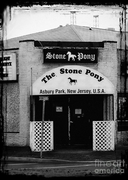 The Stone Pony Greeting Card featuring the photograph The Stone Pony by Colleen Kammerer