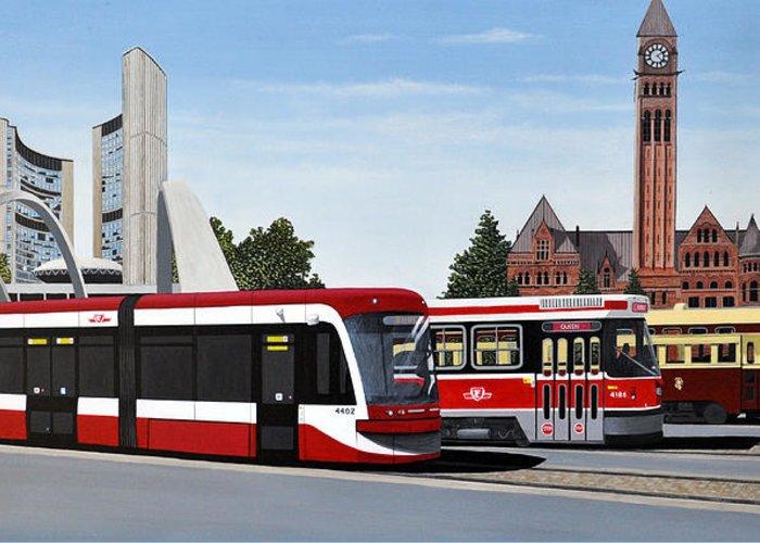 Toronto Transit Commission Greeting Cards