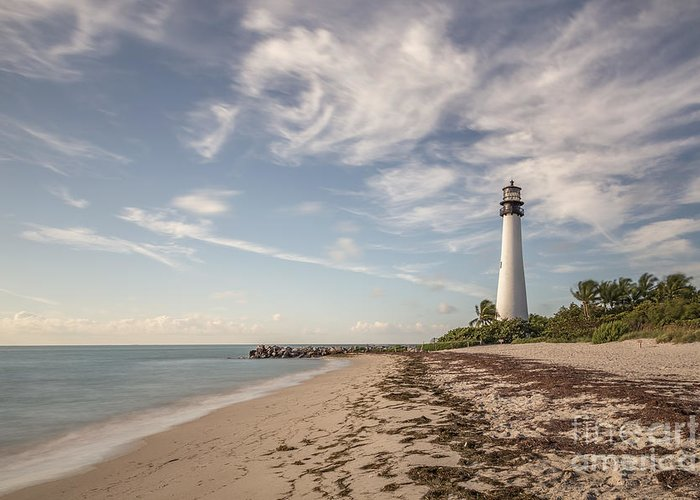 Cape Florida Greeting Card featuring the photograph The Way Back Home by Evelina Kremsdorf