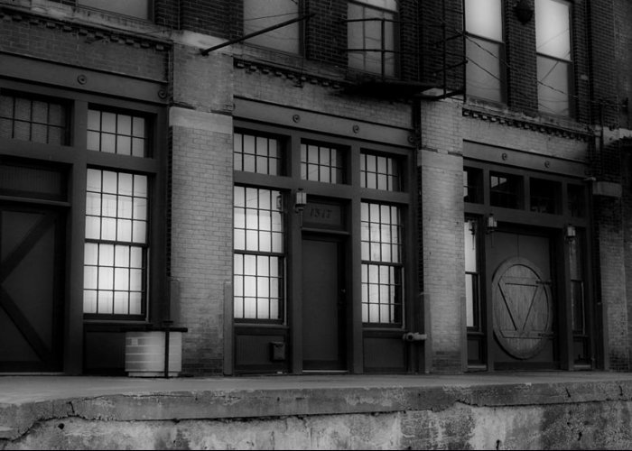 1317 Greeting Card featuring the photograph The West Bottoms Bw by Elizabeth Sullivan