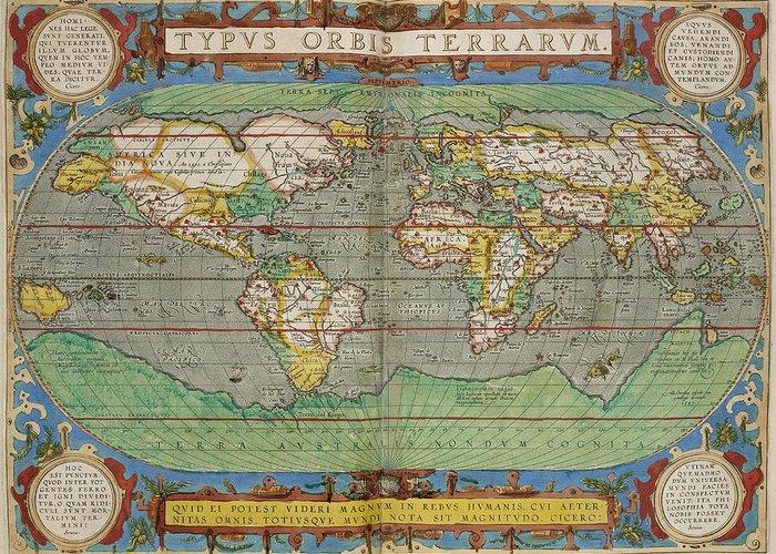Theatrum Orbis Terrarum Greeting Cards