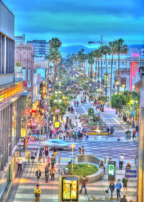 California Tourist Spots Greeting Cards