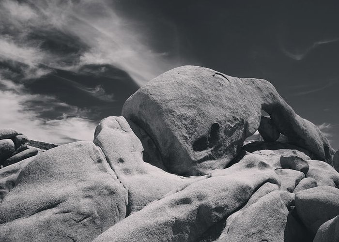 Joshua Tree National Park Greeting Card featuring the photograph This Hole In My Heart Is For You by Laurie Search