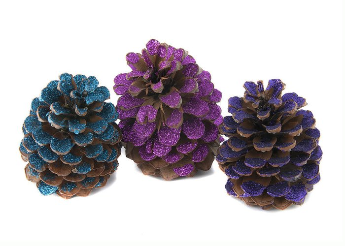 Pineapple Greeting Card featuring the photograph Three Pineapples by Oscar Hurtado