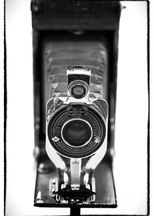 Through The Lens Greeting Card featuring the photograph Through The Lens by John Rizzuto