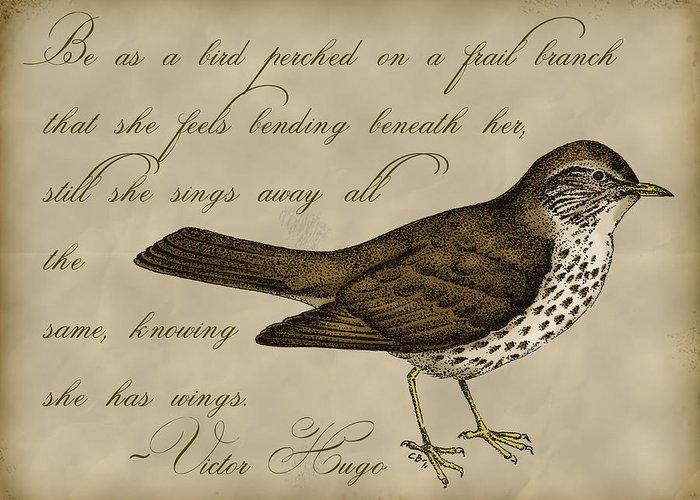 Inspirational. Pointillism Greeting Cards