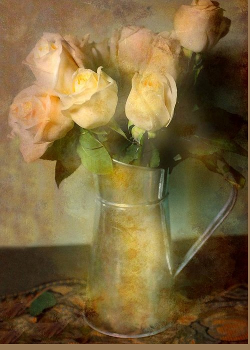 Still Life Greeting Card featuring the photograph Ti Amo by Diana Angstadt