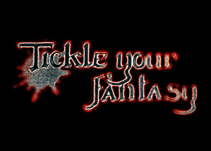 Tickle Your Fantasy Greeting Card featuring the photograph Tickle Your Fantasy by Sennie Pierson