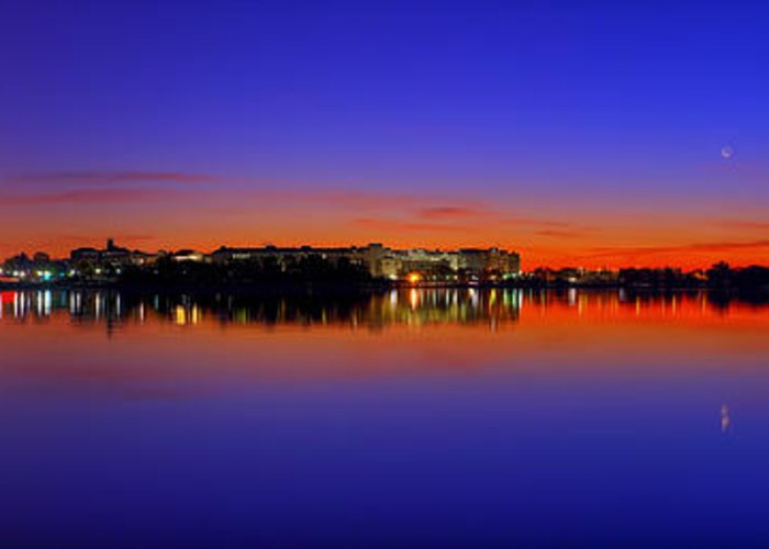 Dc Greeting Card featuring the photograph Tidal Basin Sunrise by Metro DC Photography