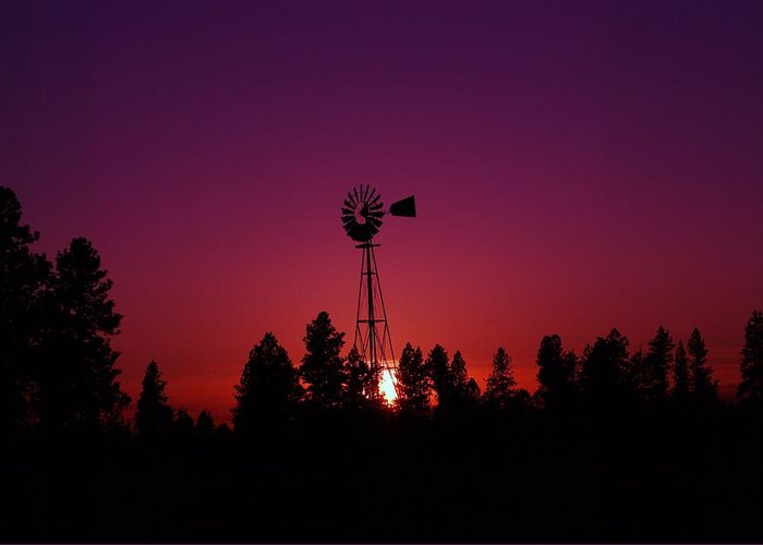 Rural Scenes Greeting Card featuring the photograph Time Gone By by Jeff Swan