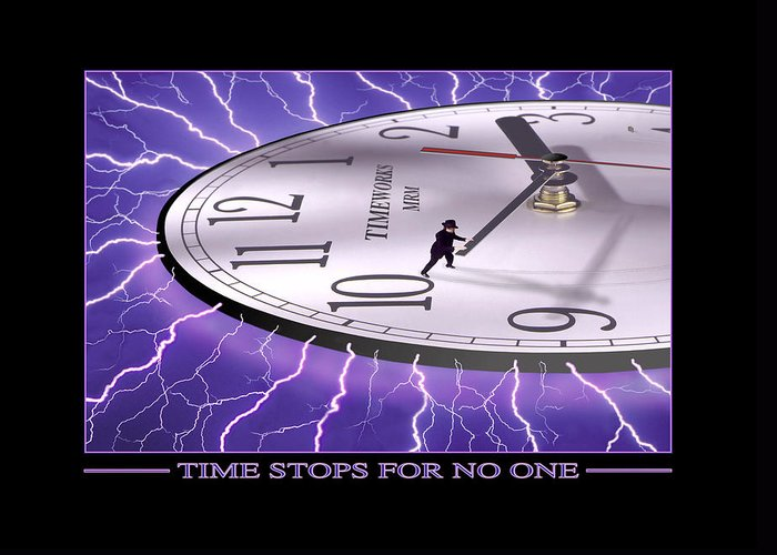 Time Related Art Greeting Cards