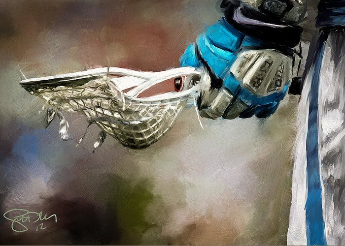 Glove Digital Art Greeting Cards