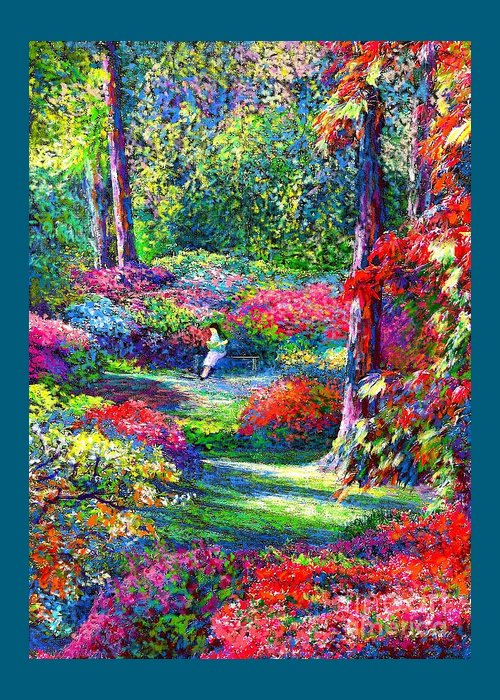 Azaleas Greeting Cards