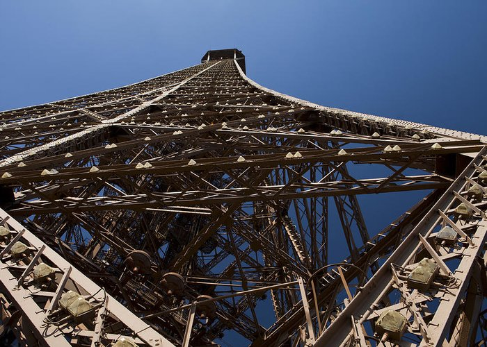 Paris Greeting Card featuring the photograph Tour Eiffel 7 by Art Ferrier
