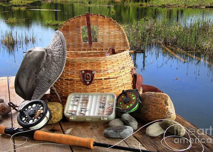 Angling Photographs Greeting Cards