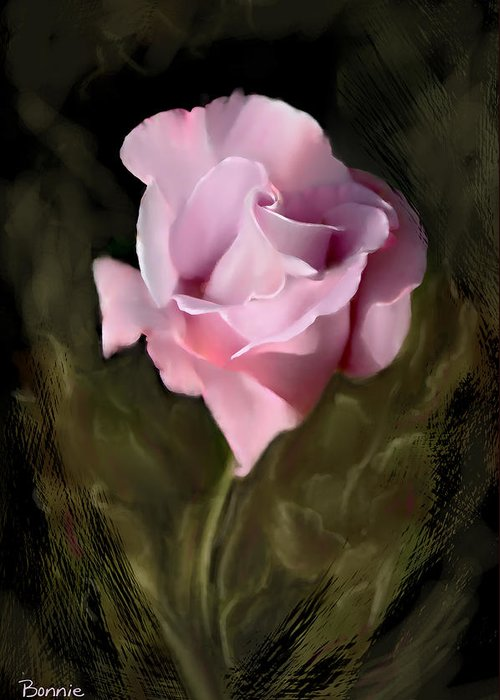 Rose Greeting Card featuring the photograph Tranquil Rose by Bonnie Willis