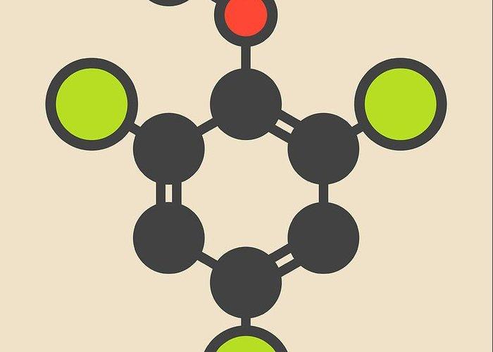Trichlorophenol Greeting Cards