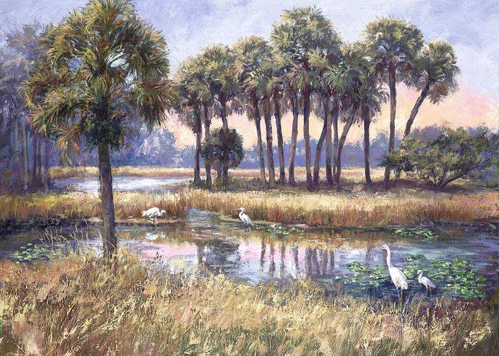 Wetlands Greeting Cards