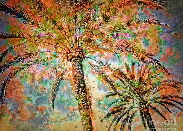 Digital Art Greeting Card featuring the photograph Tropicana by Edmund Nagele
