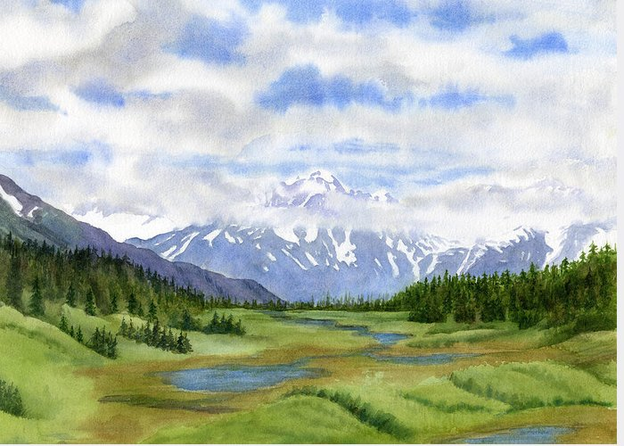 Kenai Peninsula Greeting Cards