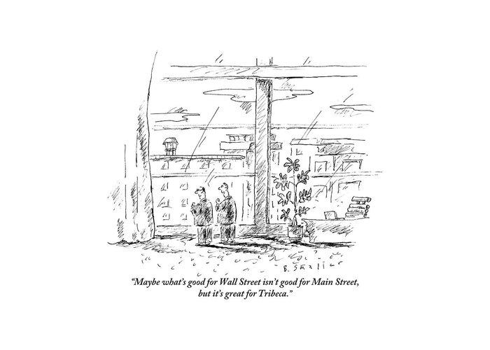 Main Street Drawings Greeting Cards