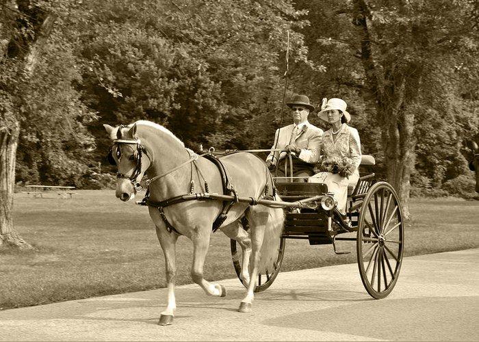 Two Wheel Cart Greeting Card featuring the photograph Two Wheel Cart by Wayne Sheeler