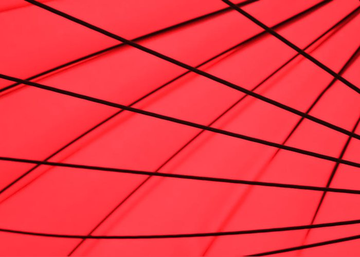 Red Abstract Greeting Cards