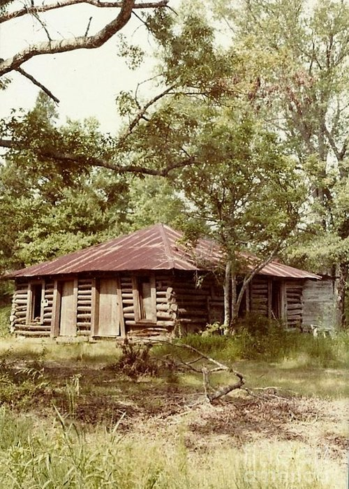 Mississippi Greeting Card featuring the photograph Uncle Toms Cabin Brookhaven Mississippi by Michael Hoard