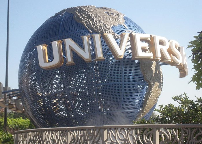 Universal Greeting Card featuring the photograph Universal Orlando Resort - 12125 by DC Photographer