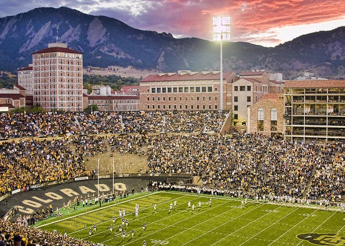 University Of Boulder Colorado Greeting Cards