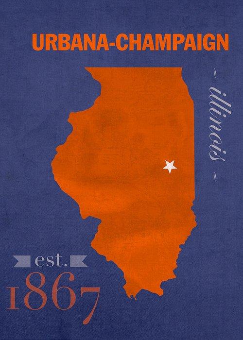 University Of Illinois Greeting Cards
