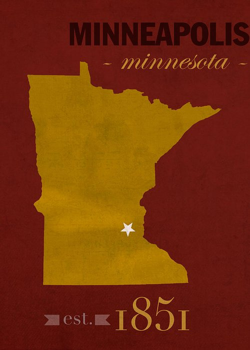 University Of Minnesota Greeting Cards