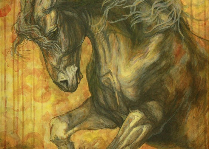 Equestrian Art Greeting Cards