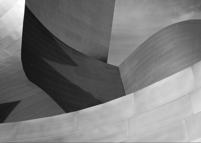 Architecture Greeting Card featuring the photograph Urban Dunes 6 by John Gusky