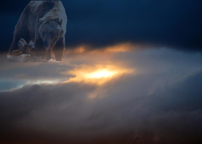 Landscape Greeting Card featuring the photograph Ursa Major - Great Bear by Kevin Bone